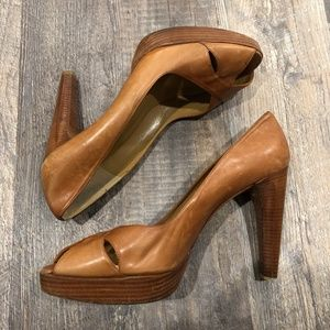 Stuart Weitzman Leather Heels